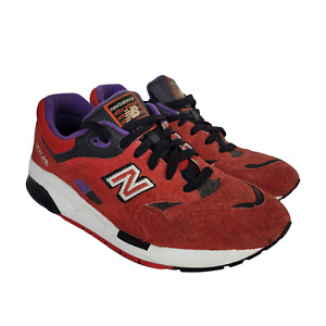 New Balance Mens Pinball Shoes Size 8.5 CM1600BD Elite Red Black Purple