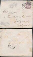 IRELAND 1883 DROGHEDA to HOLYWOOD...WAGON SKETCH in PENCIL