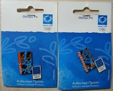 Athens 2004 Olympic Games 2 pins Sport Philosophy