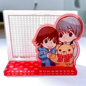 Junjou Romantica acrylic Stand Memo Holder Junjo Usagi Misaki Yaoi BL official