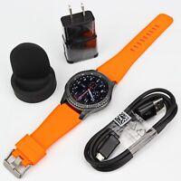 Samsung Gear S3 Frontier SM-R760 Wi-fi Smart Watch w/ Generic Medium  Size Band
