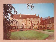 Vintage 1971 Traquair House Real Photo Postcard