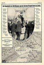 4. Gordon-Bennet-Cup (Ballonfahren) Zürich AMERICA II with Edgar W. Mix von 1909