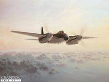 RAF WW2 De haviland Mosquito Aviation art print by  artist Gerald Coulson,