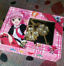 Shugo Chara COS Hinamori Amu open Key & lock jewel couples Necklace COSPLAY