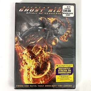 Ghost Rider: Spirit of Vengeance (DVD, 2012, Includes Digital Copy UltraViolet)