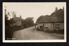 Hillock Vilage near Wigan - real photographic postcard