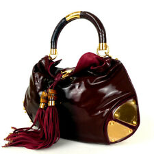 Authentic GUCCI 177139 Indy Handbag Patent leather[Used]