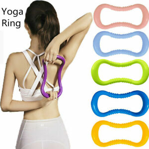 Yoga Ring Pilates Stretch Fitness Circle Resistance Massage Exercise Gym