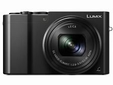 PANASONIC LUMIX DMC-ZS100K Black COMPACT DIGITAL CAMERA DMCZS100K 4K 10x
