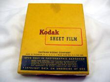 VINTAGE KODAK ORTHO-XTYPE V - CLASS B , 4x5 SHEET FILM