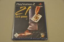 Playstation 2 Spiel - 21 Card Games - komplett Deutsch PS2 Neu OVP