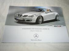 Mercedes SLK Class Edition 10 brochure Nov 2006 German text