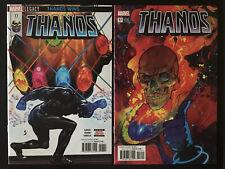 Thanos 17 Vol 2 Cover A Variant B 1st print CGC Silver Surfer Black appearance