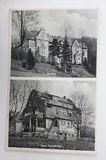 29675 Foto AK Herchen Sieg Oberhaus und Haus Fuchshollen 1935 Rhein-Sieg-Kreis