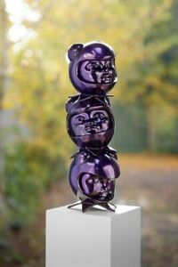 Hebru Brantley 3 The Hard Way Sculpture By Avant Arte Limited Edition
