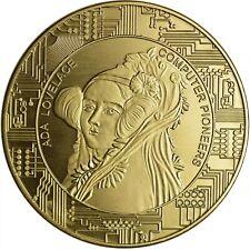Bitcoin * Ada Lovelace * Nordic Gold * Sammelmünze IV * NEU *