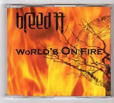 (GB335) Breed 77, World's On Fire - 2004 CD