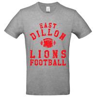 East Dillon Lions Tee Mens TV Film Merch Geek Crew Neck Short Sleeve T-Shirt Top
