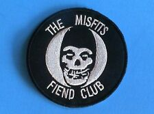 Misfits Fiend Club Iron On Patch Brand New Punk Rock Danzig Samhain Metallica