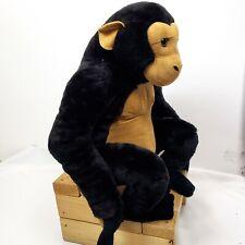 "Melissa & Doug Large Chimpanzee Monkey 24"" Plush Stuffed Animal"