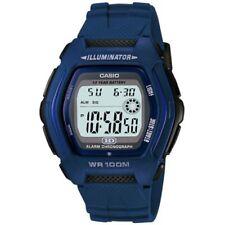 Casio Uhr HDD-600C-2A Herren Damen Digitaluhr Armbanduhr Blau Schwarz NEU & OVP