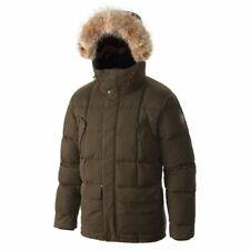 NEW Sorel Ankeny Green Quilted Goose Down Fur Trim Hooded Coat Jacket Sz XXL/2TG