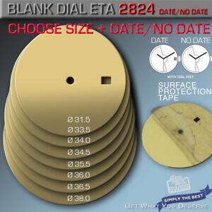 BLANK DIAL ETA 2824-2+SW 200, Ø31.5/33.5/34,0/34.5/35.5/36.0/36.5/38,0mm, DAT+NO
