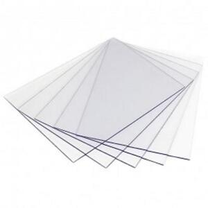 CUT TO SIZE 2MM CLEAR PLASTIC STYRENE SHEETS PANEL