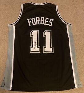 Bryn Forbes Signed Custom Spurs Jersey MILWAUKEE BUCKS NBA FINALS CHAMPION Auto
