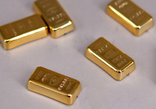 """1/6 Scale Accessories Gold Bars Faux Diorama Gold 10Pcs F 12"""" Action Figure"""