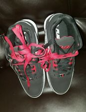 Men's SZ 10 Fubu Black/Red Mid Shoes~NEW~