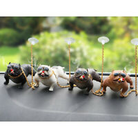 Cool Bully Dog Car Dashboard Decor Interior Desktop Display Ornaments