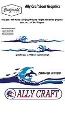 ALLY CRAFT Boat Graphics/ Boat Stickers
