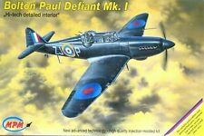 MPM Production 1:72 Boulton Paul Defiant Mk.I Aircraft Model Kit