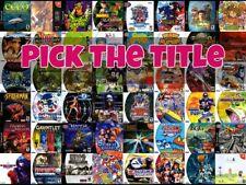 Sega DreamCast Games - Pick Your Favorite Titles - Complete Authentic Games