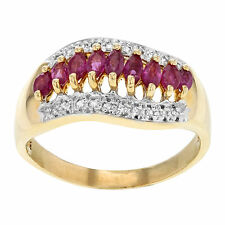 Solitaire with Accents 10k Fine Rings