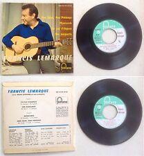 Francis Lemarque Disque Super 45T vinyl 4 titres Mon soleil mon printemps vintag