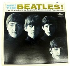 THE BEATLES - MEET THE BEATLES LP MONO CAPITOL T 2047 LP=VF