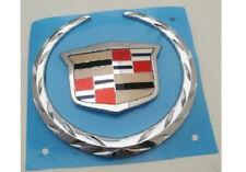 "Cadillac ""Large Gas Door"" WREATH & CREST Emblem!!"