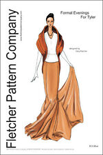 Evening Wear Doll Clothes Sewing Pattern Tyler Fletcher Pattern Tonner