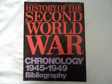 HISTORY OF THE SECOND WORLD WAR MAGAZINE WEEKLY NO 128 1974