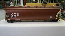 InterMountain Kansas City Southern KCS#5445 3 bay hopper   Kadee's  No box