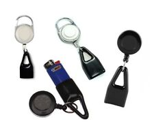 PULL OUT RETRACTABLE LIGHTER LASSO LEASH CLIP SECURE HOLDER BIC USB