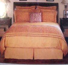 New ListingNoble Excellence Duvet Cover Bed Set King Size Orange Callista Embroidered $384