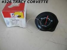 1972 73 1974 Corvette Nos 6473859 Ammeter Amp Battery Delco Gauge Gage 72 73 74