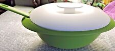 Tupperware Essentials Oval Rice Server Bowl 7.5 Cups w/Ladle + free shipping