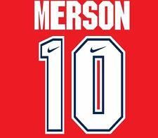 Merson #10 Arsenal Camisa de fútbol local para hogar 1994-1995