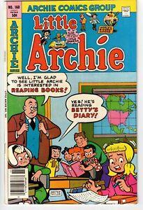 LITTLE ARCHIE #160 1980 BRONZE AGE FINE+!