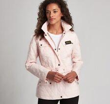 Barbour International quilt jacket size 12